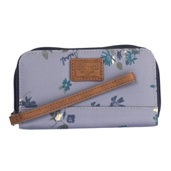 Animal Catching Waves Purse - Storm Gray