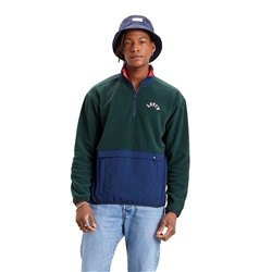Levi's 1/4 Zipped Fleece - Green