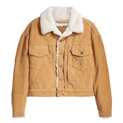 Levi's New Herit Cord Jacket - Iced Coffee