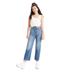 Levi's Ribcage Straight Jeans - At The Ready
