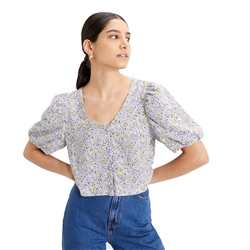 Levi's Holly Shirt - Floral Lavender