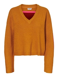 Noisy May Simira V Jumper - Inca Gold