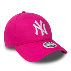 New Era League Essential 9Forty Cap - Pink & White