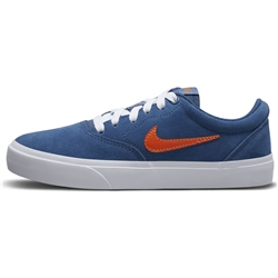 Nike SB Charge Shoes - Navy & White