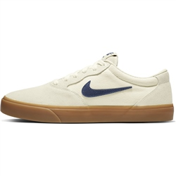 Nike SB Chron Solarsoft Shoes - Sail & Navy