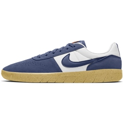 Nike SB Team Classic Shoes - Navy & White