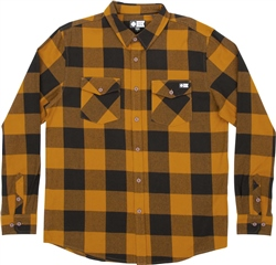 Salty Crew Buffer Flannel Shirt - Bronze