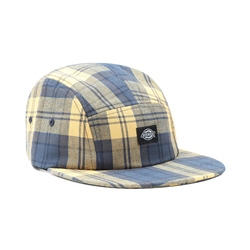 Dickies Hornbeck Check Hat - Air Force Blue