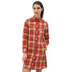 Dickies New Iberia Dress - Fiery Red