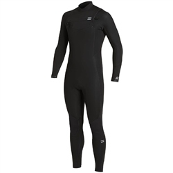 Billabong Absolute 5/4mm Chest Zip Wetsuit - Black (2021)