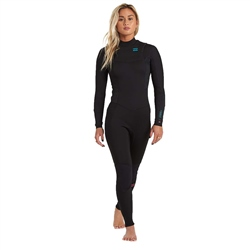 Billabong Synergy 5/4mm Chest Zip Wetsuit - Black