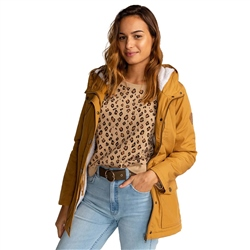 Billabong Facil Iti Jacket - Antique Gold