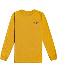Billabong Arch Peak Long Sleeved T-Shirt - Mustard