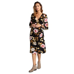 Billabong Dream Big Dress - Black Flower