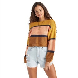 Billabong Seeing Stripes Jumper - Gold