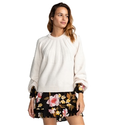 Billabong Wild Spaces Jumper - White Cao