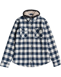 Billabong All Day Hooded Shirt - Birch