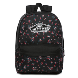 Vans Realm Beauty 22L Backpack - Floral Black