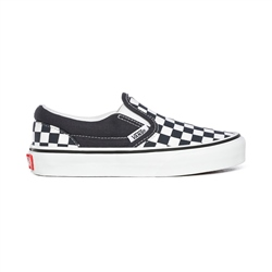 Vans Checkerboard Classic Slip On - Ink & White
