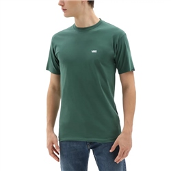 Vans Left Chest Logo T-Shirt - Pine Needle & White