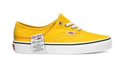 Vans Authentic DIY Shoes - Lemon & White