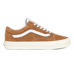 Vans Old Skool Pig Shoes - Brown & White