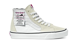 Vans Sk8 Hi Tapered DIY Shoes - White
