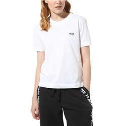 Vans Junior V Boxy T-Shirt - White