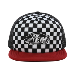 Vans Classic Patch Plus Trucker Cap - Chilli Pepper Checkerboard