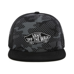 Vans Classic Patch Trucker Cap - Checker Camo