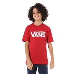 Vans Classic T-Shirt - Chilli Pepper & White
