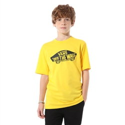 Vans Off The Wall T-Shirt - Lemon & Black