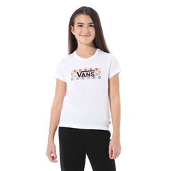 Vans Check Tangle T-Shirt - White