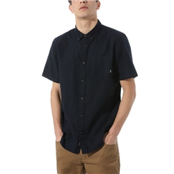 Vans Beachwood Shirt - Black & Dress Blues