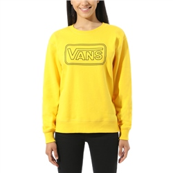 Vans Make Me Your Own Sweatshirt - Lemon Chrome