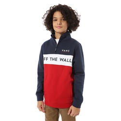 Vans Victory 1/4 Zipped Sweatshirt - Chilli Pepper