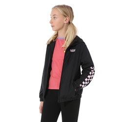 Vans Kastle Classic Windbreaker Jacket - Black