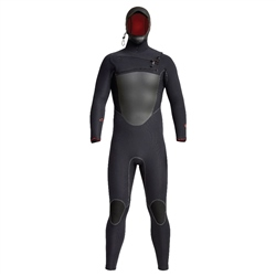 Xcel Drylock 5/4mm Hooded Chest Zip Wetsuit - Black