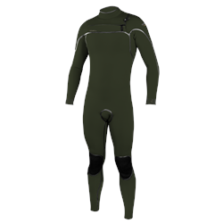 O'Neill Psycho One 5/4mm Chest Zip Wetsuit - Ghost Green