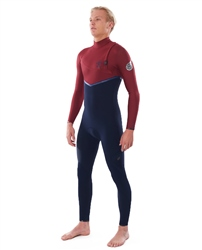 Rip Curl E Bomb 5/4mm Wetsuit - Multi & Red