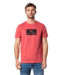 Rip Curl Hallmark T-Shirt - Washed Red
