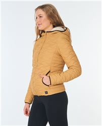 Rip Curl Anoeta II Tech Jacket - Tobacco Brown