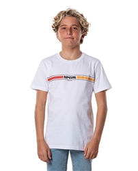 Rip Curl Boys Mama Horizon T-Shirt - White