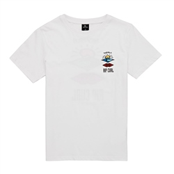 Rip Curl The Search T-Shirt - Optical White