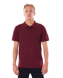 Rip Curl Faded Polo Shirt - Maroon