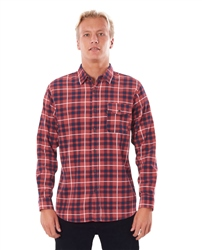 Rip Curl Return Shirt - Bright Red