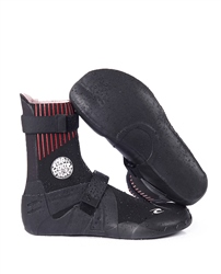 Rip Curl Flash Bomb 5mm Wetsuit Boots - Black - Hidden Split Toe