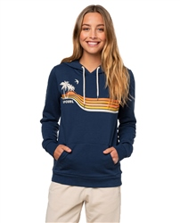 Rip Curl Gold Beach Hoody - Mid Blue