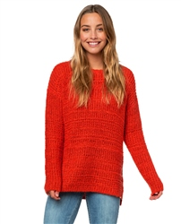 Rip Curl Peaceful Jumper - Bright Red