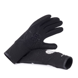 Rip Curl Flash Bomb 3mm Wetsuit Gloves - Black